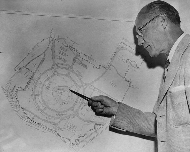 1959, Councilman and Dodger Stadium Plans