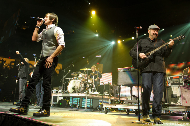 Matt Butler and Billy Goodwin of Newsong perform on January 14, 2012 during Winter Jam at Tampa Bay Times Forum in Tampa, Florida