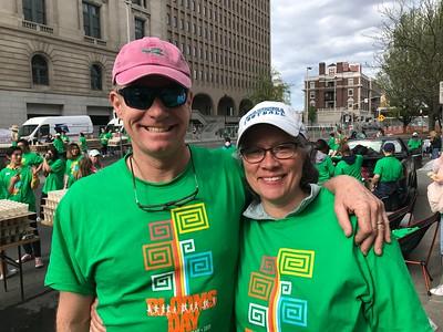Bloomsday Volunteers 5-5-19