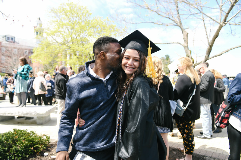 NEW LONDON, NH-  MAY 11, 2019:   Colby-Sawyer Graduation on May 11, 2019. (Photo By Faith Ninivaggi)