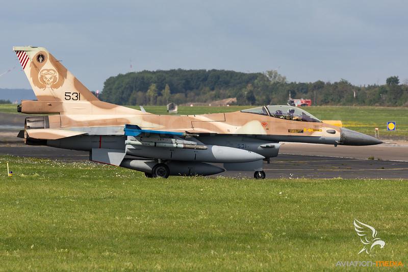Israel - Air Force   General Dynamics F-16C Barak    531