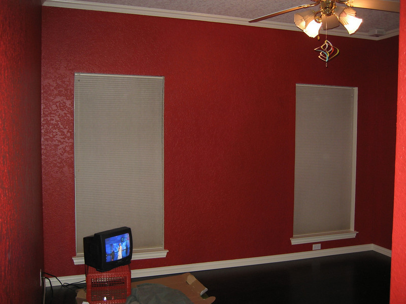 Various view of room with flooring in place and clean.