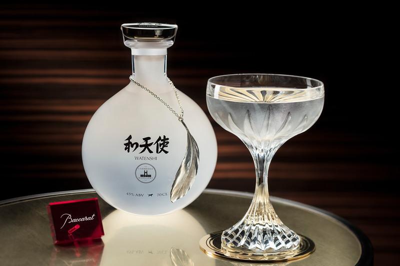 Watenshi rum at the Ritz Carlton Macao Bar and Lounge.