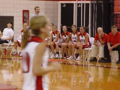 Girls Varsity Basketball  - 2005-2006 - 9/6/2005 vs. Fruitport
