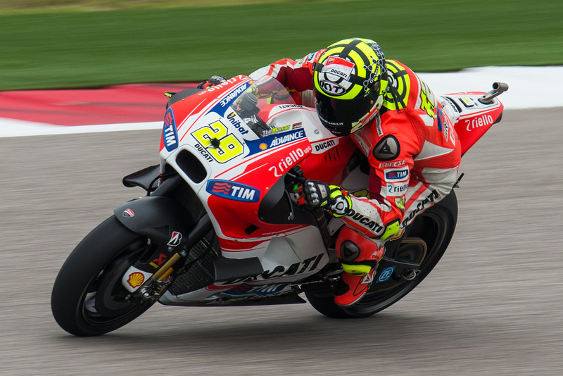 "Andrea ""The Maniac"" Iannone Cota MotoGP 2015"