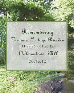 Virginia Riorden Memorial