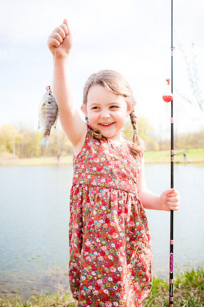 First Time Fishing