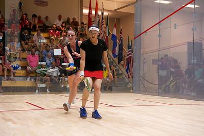 2011-07-22 4th Round: Salma Hany (Egypt) and Haley Mendez (USA)