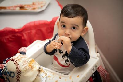 Zion Lopez First Birthday