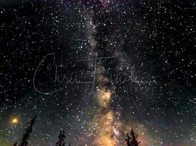 Milky Way Over the Blacks Fork