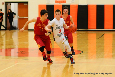 Jonesville vs Reading V Boys Basketball