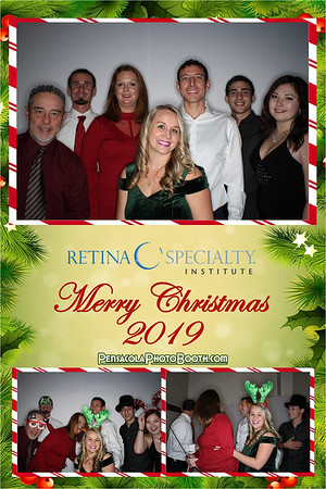 Retina Specialty Institute Christmas Party 12-7-19