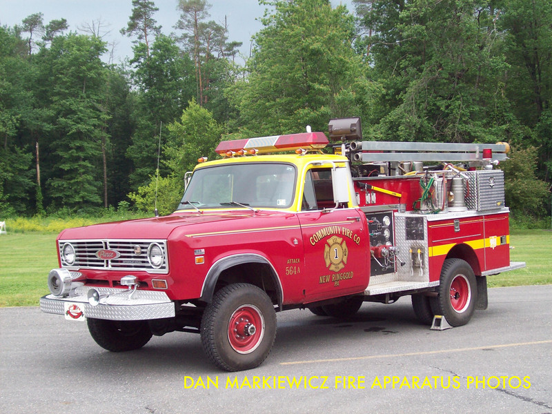 COMMUNITY FIRE CO. FORMER BRUSH 55-40 1974 INTERNATIONAL/PIERCE BRUSH UNIT