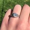 1.11ct Old European Cut Diamond Filigree Ring 17
