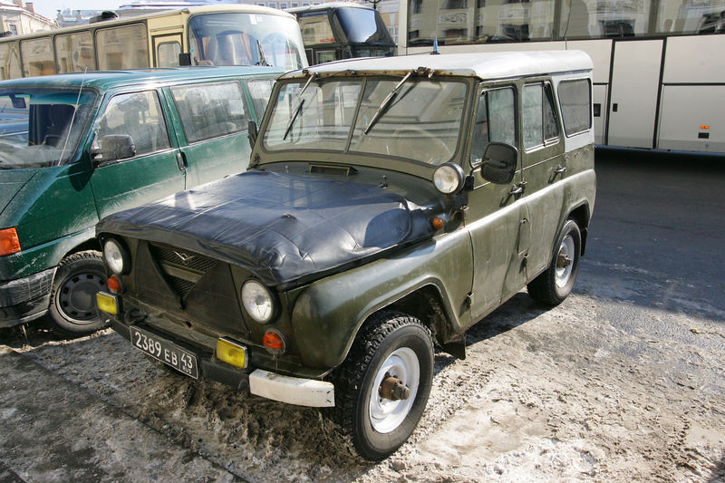 russian Land Rover? errm, maybe not, but interesting nontheless.