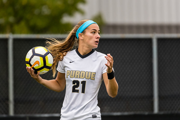 Purdue Soccer vs Iowa 2017-10-15