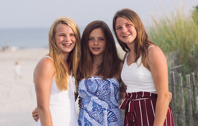 Libby Cohen with Sydney and Emma Aug 2019