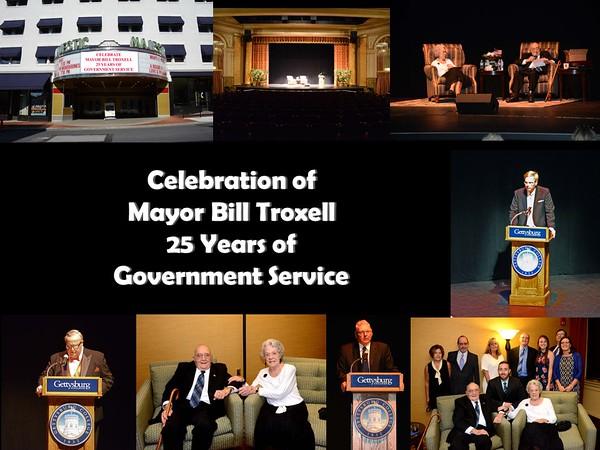Mayor Troxell Celebration