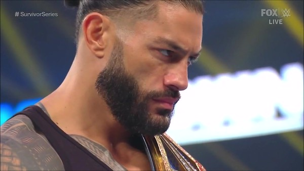 Roman Reigns - Screencaps / SD Live Oct. 30, 2020