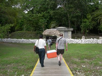 Belize December 2008 - Orchid Garden Eco-Village: River trip to Mayan Ruins at Laminai, Jungle Walk, Cave Tubing at Jaguar's Paw, Caving at Actun Tunichil Muknal, Belize Zoo and Belize City
