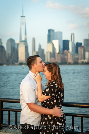Engagement Session at Liberty State park, Jersey City NJ