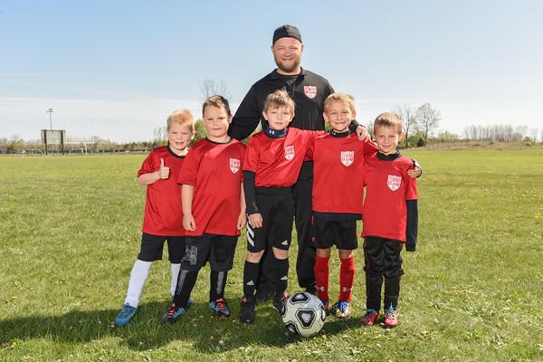 U8 Boys team 5 Chynoweth