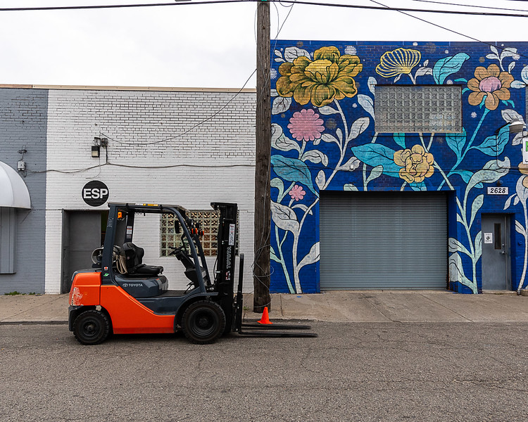 Ouizi and Front Loader, Eastern Market District, Detroit