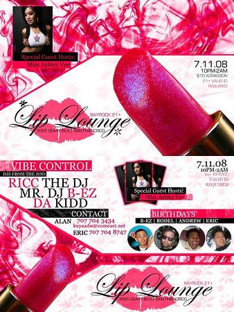 Lip Lounge --- 7/11/08 [21+]