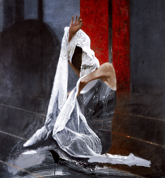 Dancer with White Silk II (2002)