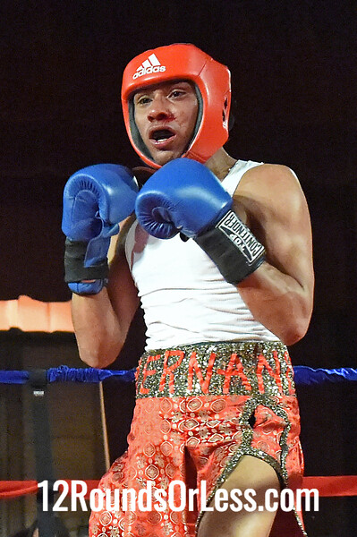 Bout 10 Chandler Clements, United Boxing Team, Cleveland -vs- Rajiv Hernandez, DNA Level C, Cleveland, 132 lbs, Open