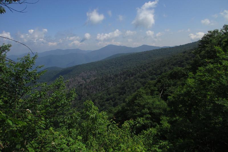 Mountains-to-Sea Trail (5,500')