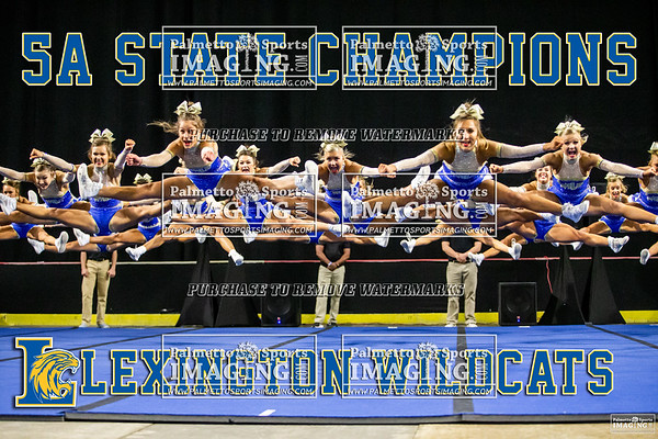Lexington Varsity Cheer 2020 State Championship
