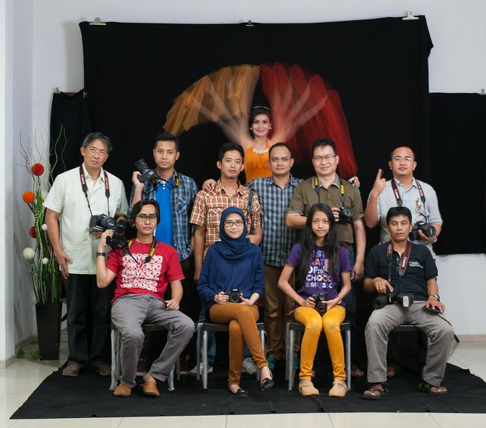 Workshop Creative Lighting dengan Flash