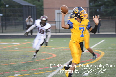 09-18-2015 Gaithersburg HS vs Paint Branch HS Varsity Football, Photos by Jeffrey Vogt Photography with Kyle Hall