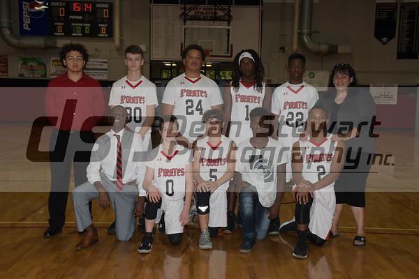 F/JV/V Boys Basketball VS Bayside  12-6-18