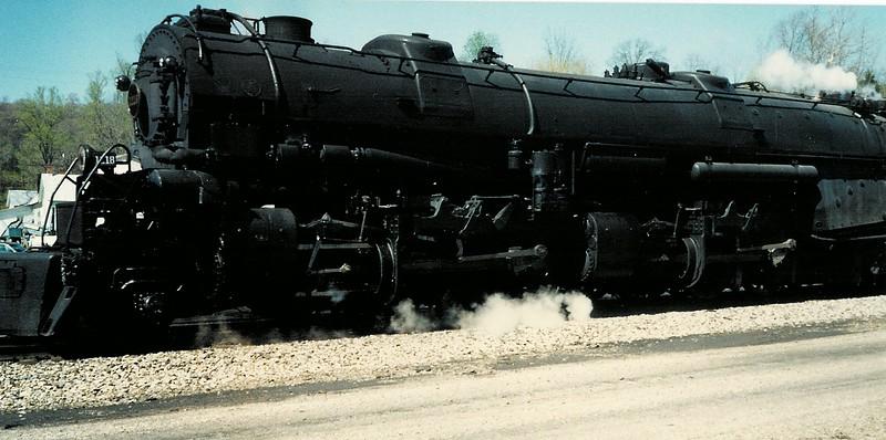 Norfolk & Western 1218 steam locomotive