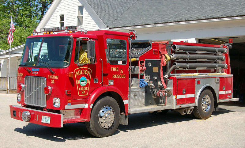 Retired  Engine 2 1990 Volvo / Ranger 1500 / 1000
