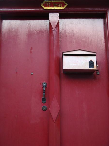 A monk's mailbox