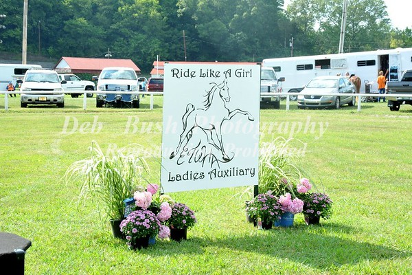 10TH ANNUAL ETWHA LADIES AUXILIARY WALKING & RACKING  HORSE SHOW AUG 6-2016