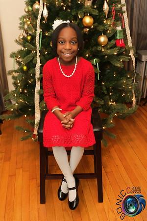The Wildgreen's Christmas Portrait