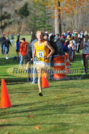 Men's Finish, Gallery 2 - 2012 Summit League XC Championships