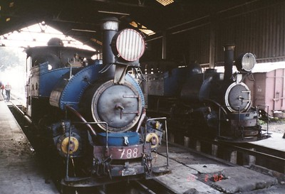 18 Siliguri steam shed