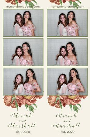 8/14/20 - Miriah & Marshall Wedding