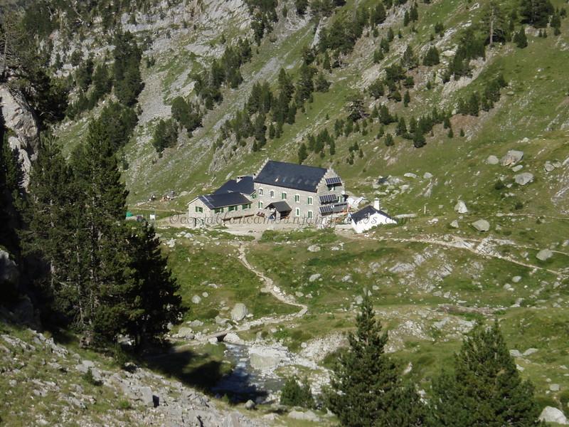 Refugio de la Renclusa 2140m