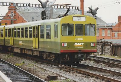 Dublin Area Rapid Transit CIÉ 8100-8300 Class (Linke-Hofmann-Busch)