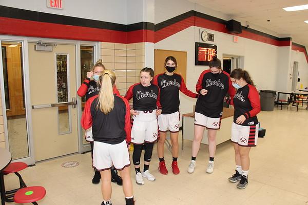 '21 Chardon Girls Basketball Senior Night