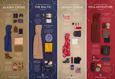 Holland America Line - Pinterest - What's In Your Suitcase