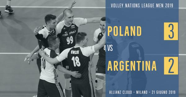 Poland 3 - Argentina 2