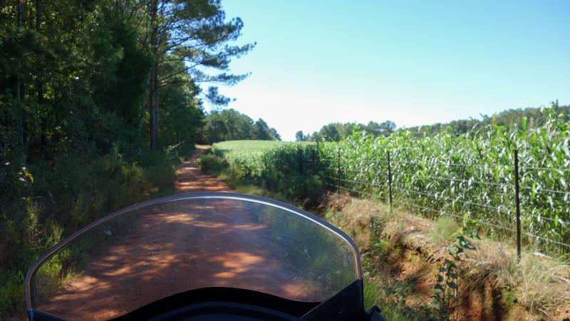 Alabama dual sport route