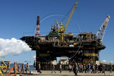 P51 Oil Plattform